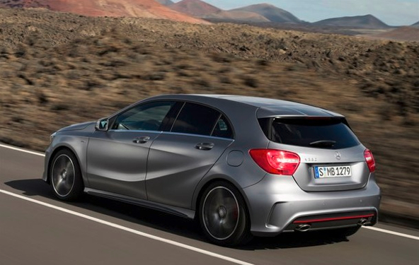 first photos of new merc a class scotcars. Black Bedroom Furniture Sets. Home Design Ideas